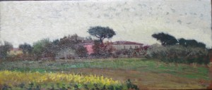 Gino Amaddio Paesaggio toscano