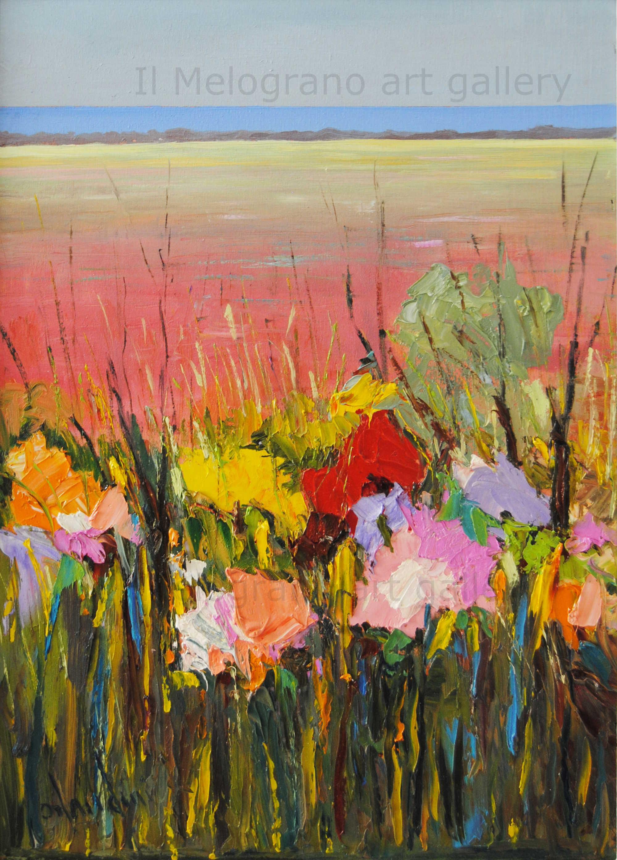 Arrigo Orlandini Campo di fiori - Meloarte