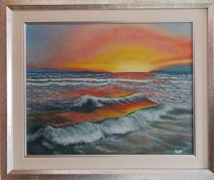 Rosy Spoto - Tramonto sul mare