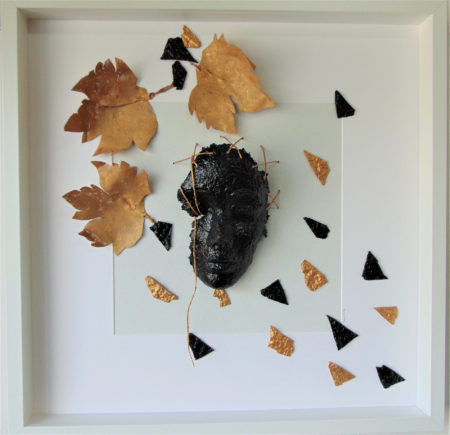 Tina Vitale come tra gli alberi ..le foglie